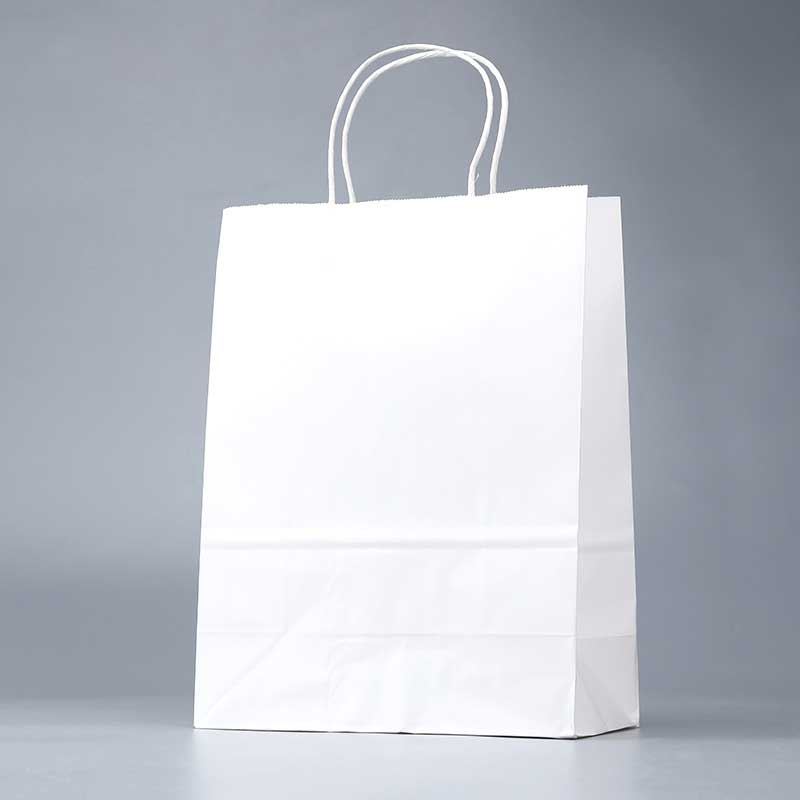 White Kraft Paper Bags Wholesale Factory (2)