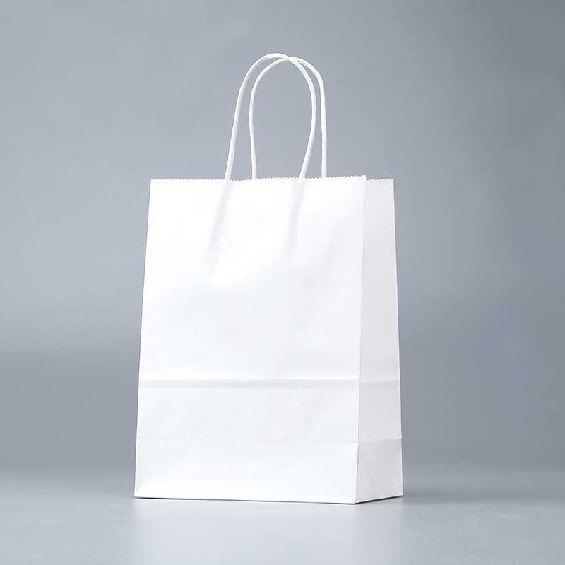 White Kraft Paper Bags Wholesale Factory (3)