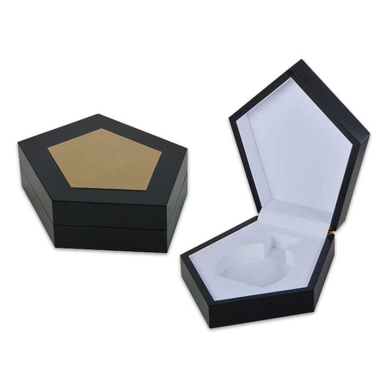 Wood Solid Perfume Packaging Boxes-3