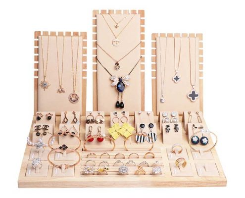 Custom Jewellery Jewelry Display Cards Board-2