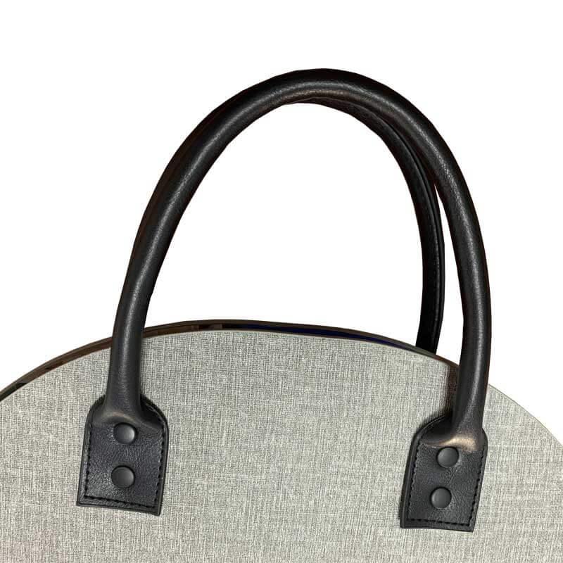Custom Leather Fabircs Samples Ring Binder-3