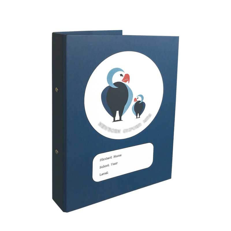 Cute Decorated Colorful Binders Wholesale-4