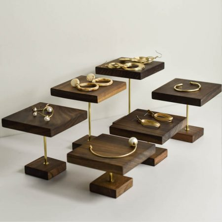 Painted Lacquered Wooden Jewelry Display-1