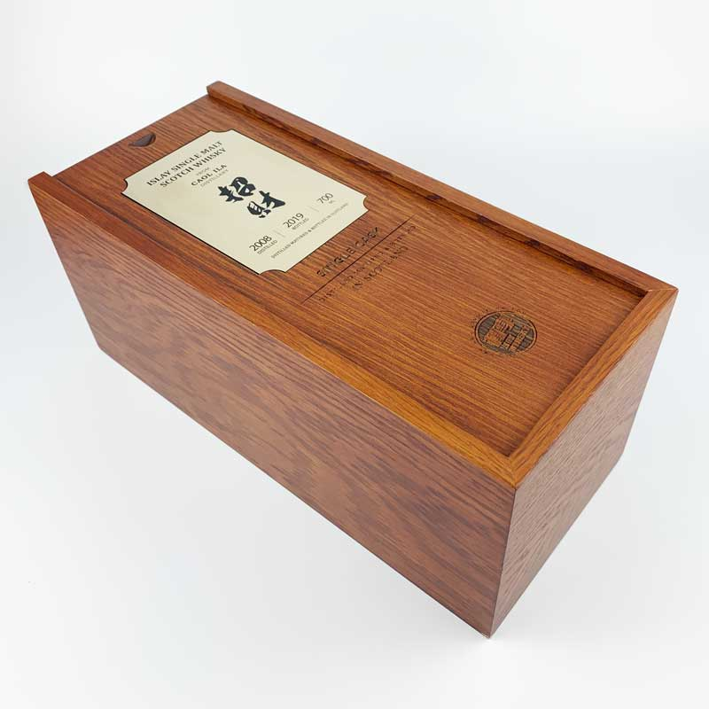 Single Bottle Wine Boxes with Sliding Lid-5