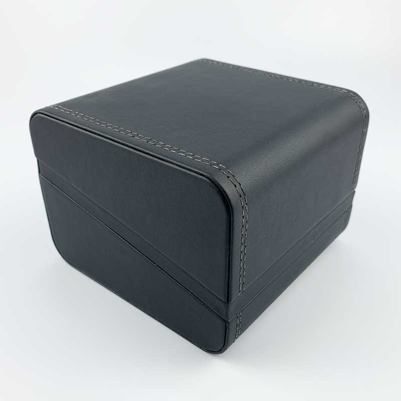 Black Leatherette Sports Mens Watch Boxes (4)