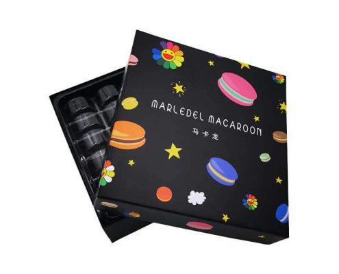 Custom Sweet Macaron Candy Chocolate Gift Boxes-4