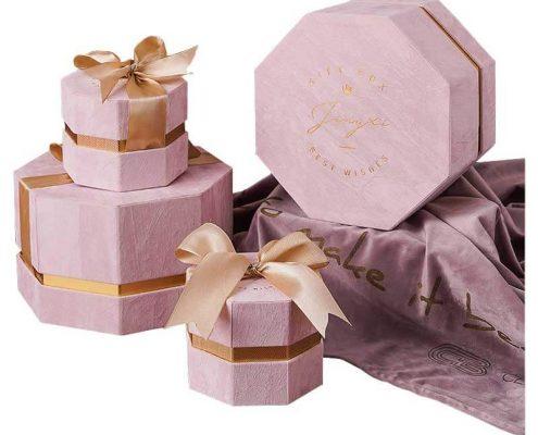 Elegant Wedding Gift Box with Ribbon-1
