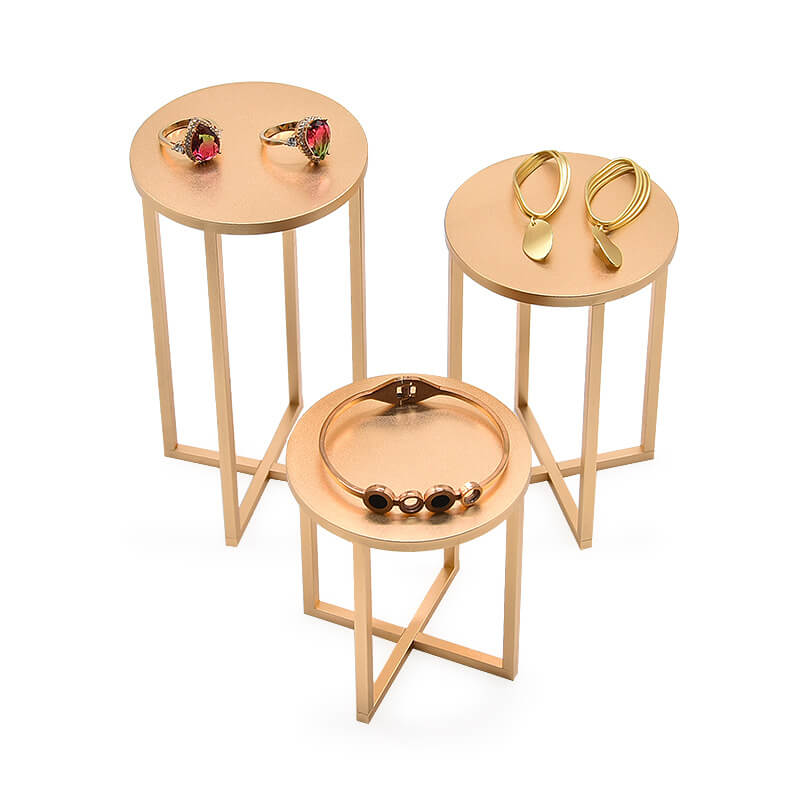Luxury Gold Metal Jewellery Display Stands -2