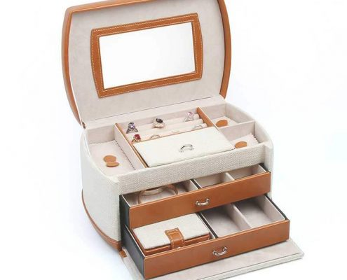 Portable Multi-Layer Jewelry Organizer Boxes-2
