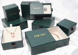 Ring Earring Pendant Watch Gift Box for Men Women-2