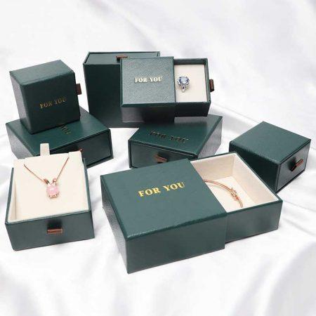 Ring Earring Pendant Watch Gift Box for Men Women-2