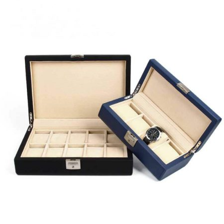 Best Leatherette Watch Storage Boxes Wholesale-2