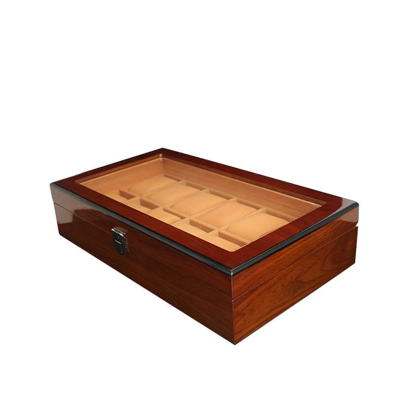 Custom Lacquered Wooden Watch Boxes Cases-1
