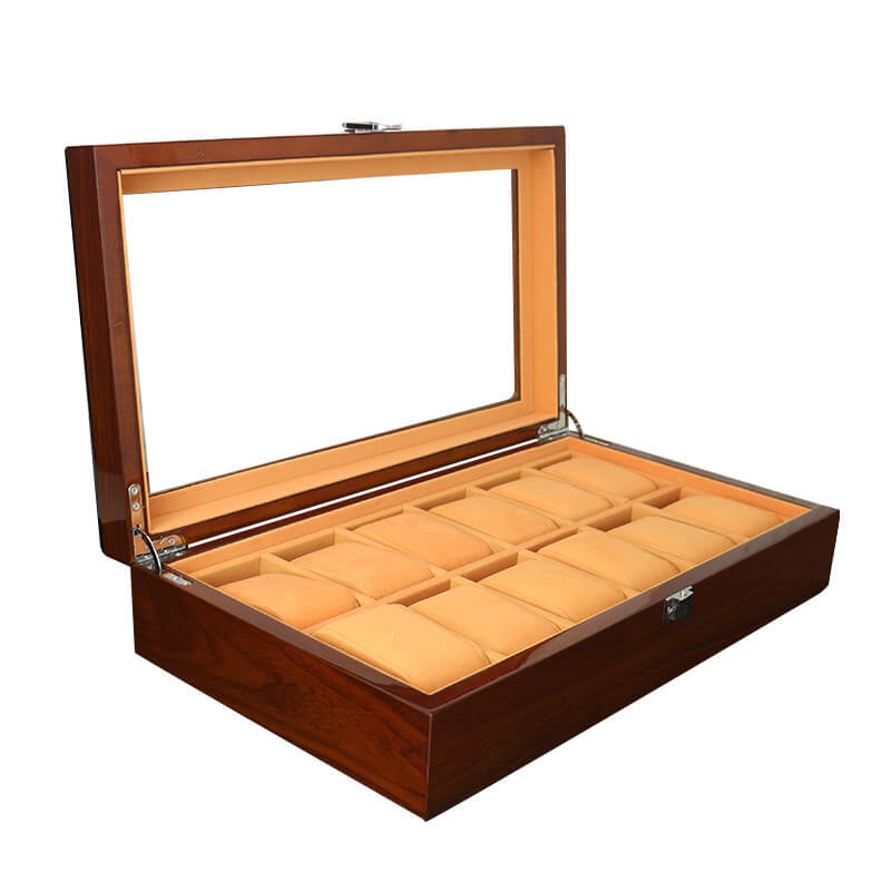 Custom Lacquered Wooden Watch Boxes Cases-2