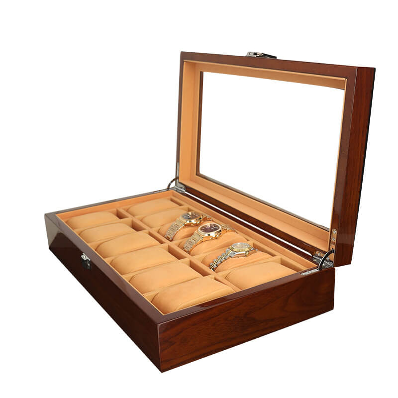 Custom Lacquered Wooden Watch Boxes Cases-3