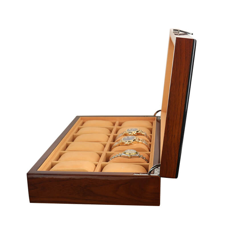 Custom Lacquered Wooden Watch Boxes Cases-4