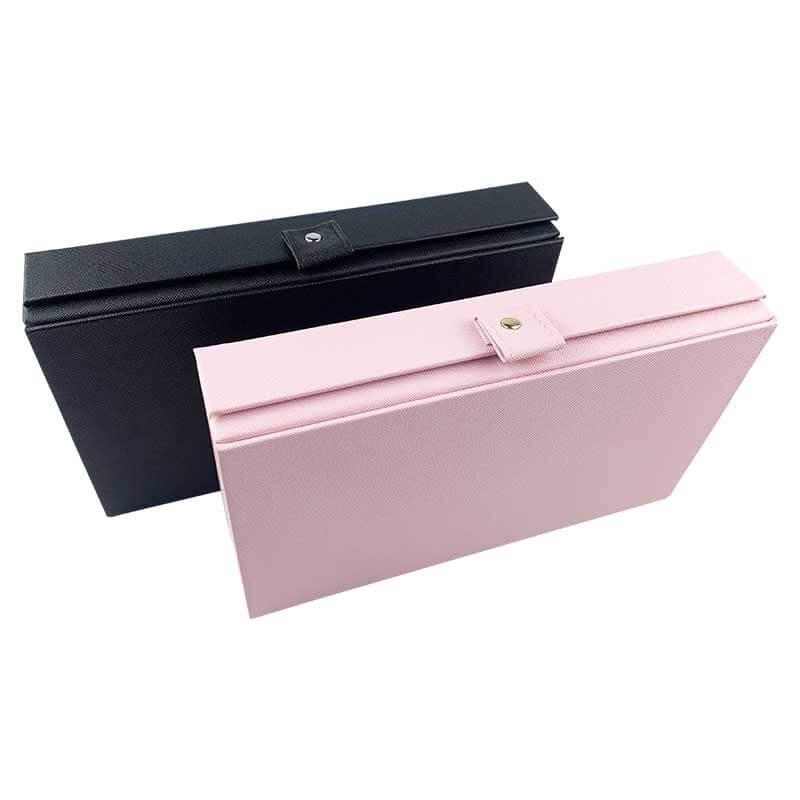 Leatherette Jewelry Organizer Storage Boxes-6