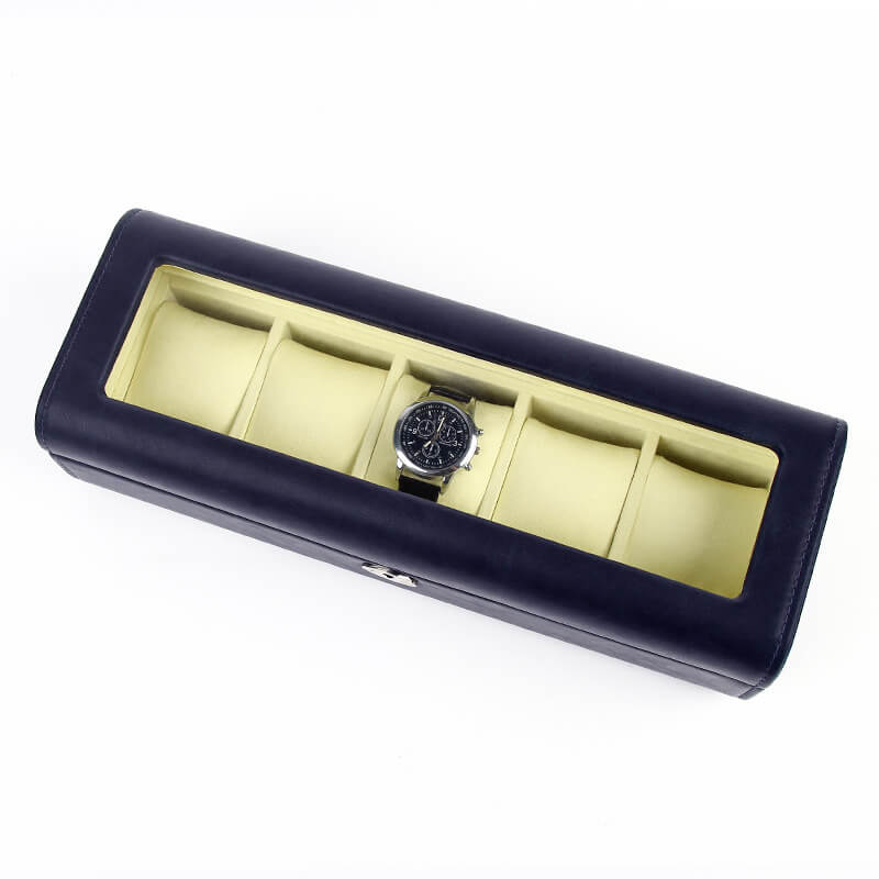 Luxury 5 Slots Watch Collection Boxes-4