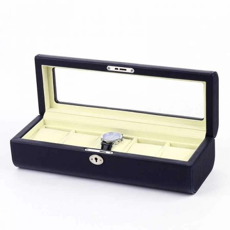 Luxury 5 Slots Watch Collection Boxes-5