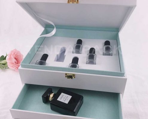 Luxury Paper Drawer Nail Polish Gift Box-6