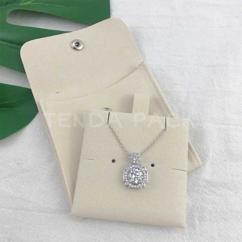 Microfiber Jewelry Pouces:Jewelry Bag With Insert Pad-2